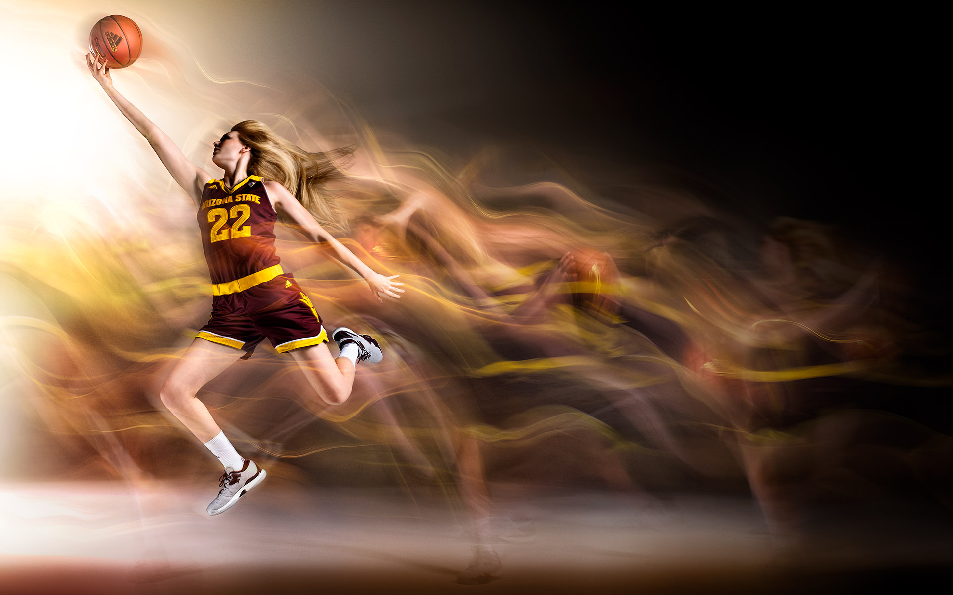 ASU 2016 Basketball ©Blair Bunting