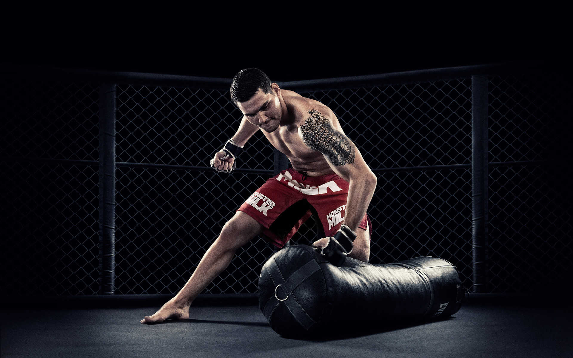 Chris Weidman Monster Milk ©B Bunting