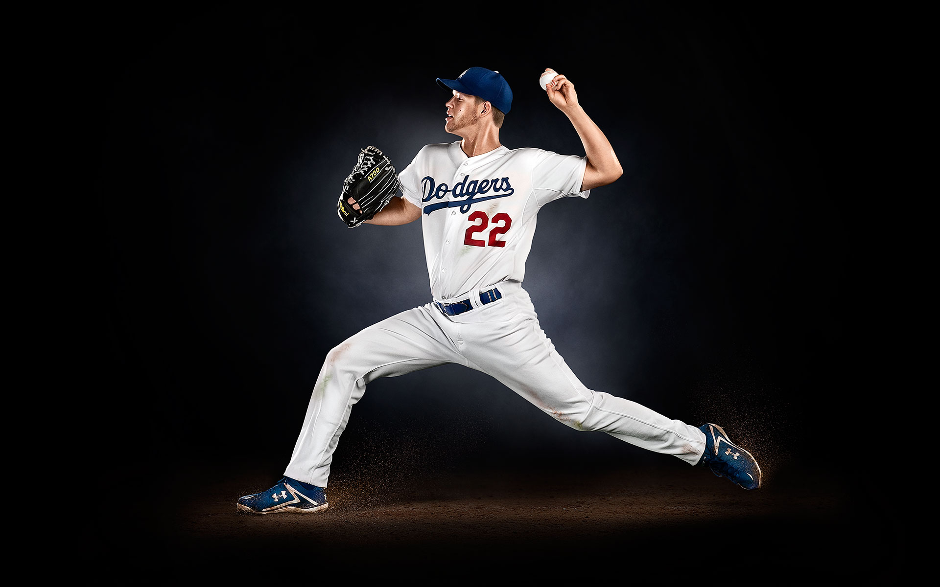 Clayton Kershaw Muscle Milk ©B Bunting
