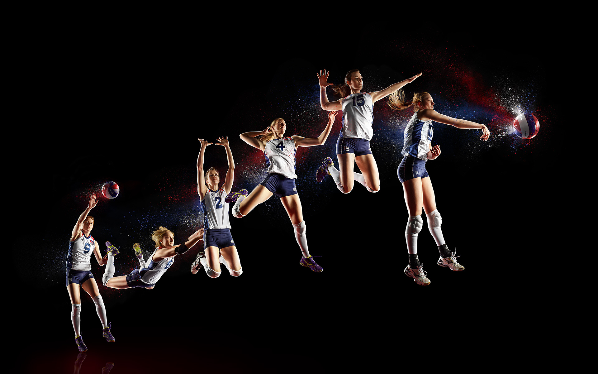 GB Indoor Volleyball team ©S Derviller