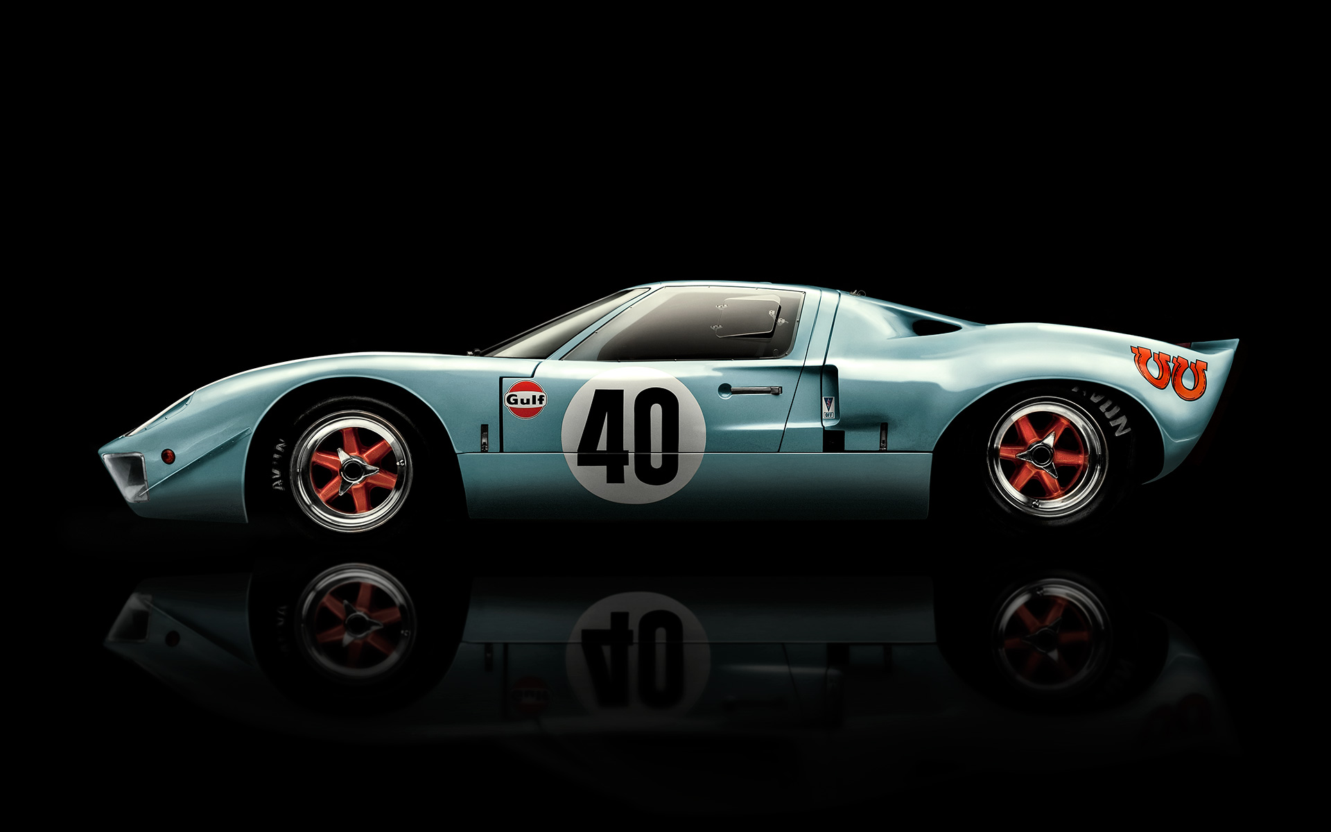 Ford GT40 Le mans ©B Bunting