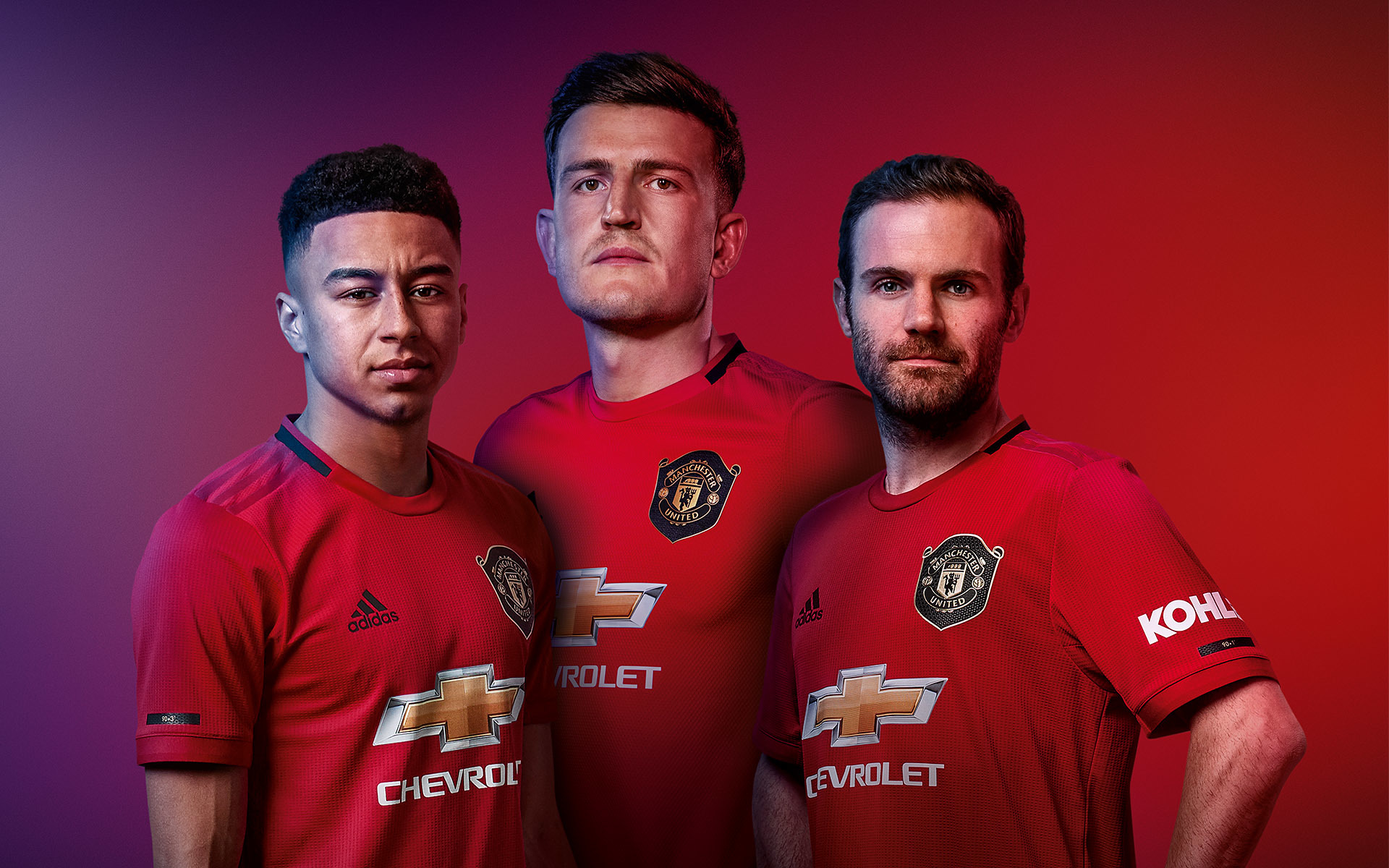 CHIVAS REGAL campaign with Manchester United. Jesse Lingard,Harry Maguire & Juan Mata