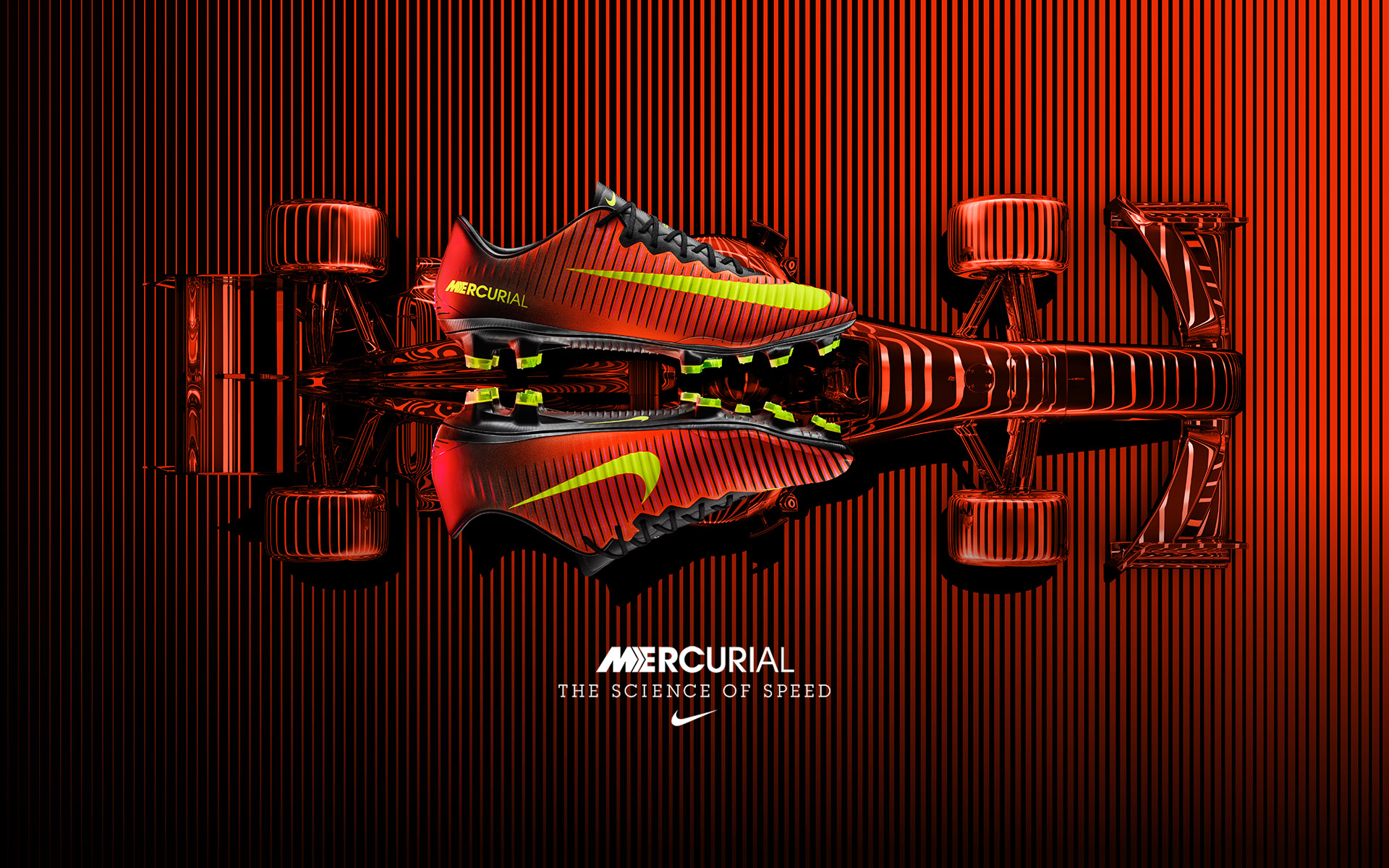 Nike Mercurial VaporX • Nike Art Director: David Chen • Creative agency: Intro • Director: Julian Gibbs
