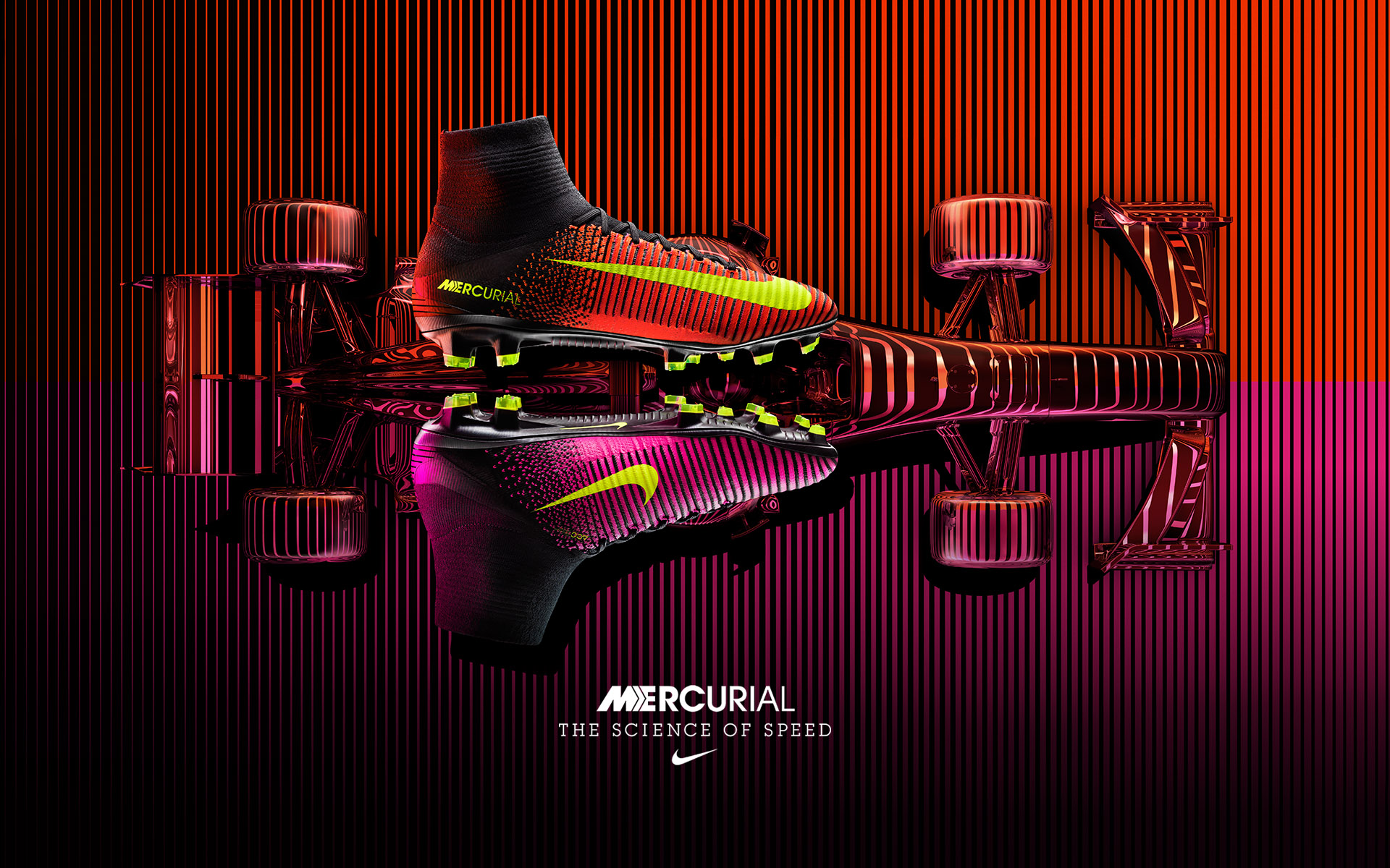 Nike Mercurial SuperflyV • Nike Art Director: David Chen • Creative agency: Intro • Director: Julian Gibbs