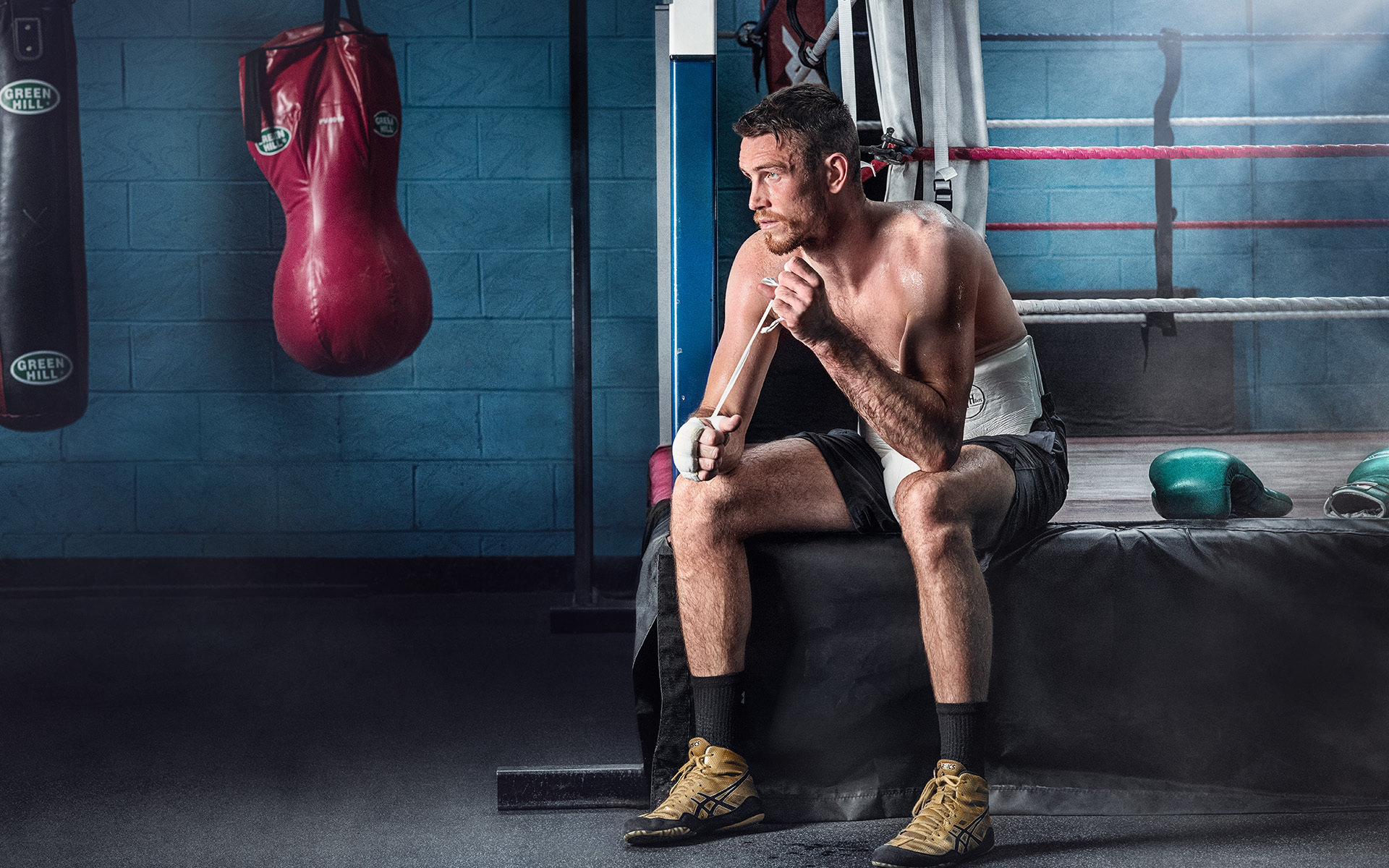 Callum Smith Former WBA and Ring magazine super-middleweight champion ©P Cooper