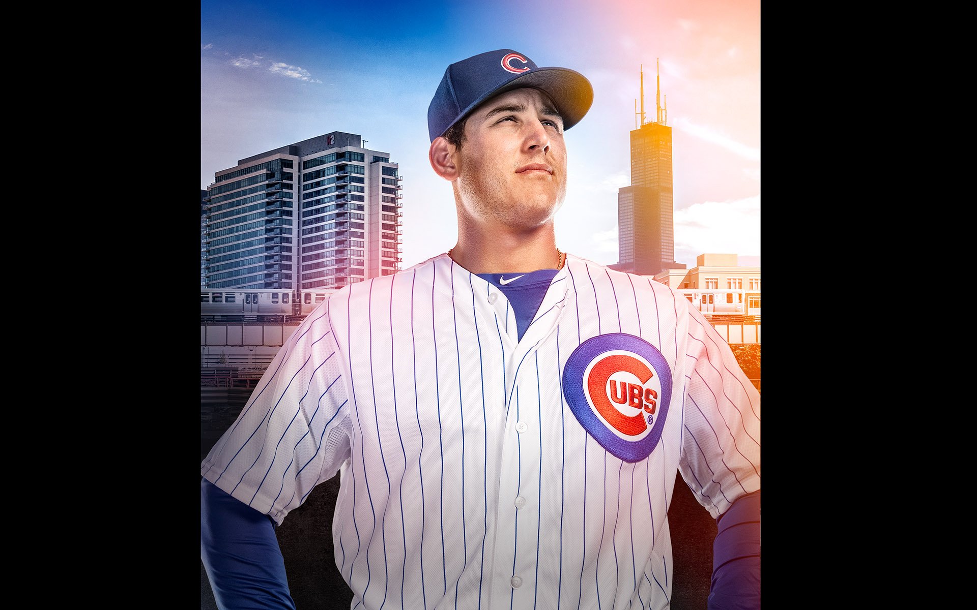 Anthony Rizzo Chicago Cubs  ©B Bunting